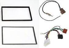 Mascherina cavi iso e antenna per autoradio monitor Doppio 2 Din Nissan Qashqai