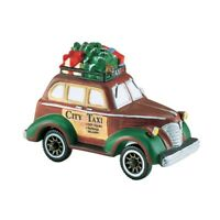 CITY TAXI # 58894  RETIRED CHRISTMAS IN CITY ACCESSORY DEPT 56