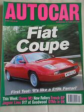 Autocar 5/7/95 Fiat Coupe 16v Turbo