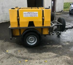 Used Dirt Driver NDHM30ST Trailer Bowser Hot Pressure Washer