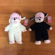Lot of 2 Beanie Kids - Baarnaby  The Lamb Bear - Common & Mutation w/ tags