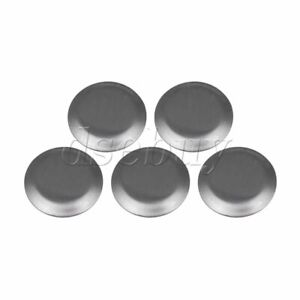 5PCS 27mm Smooth Round Household Stainless Steel Kitchen Sink Hole Cover