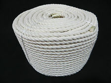 32MM X 30MTR 3 STRAND COTTON ROPE