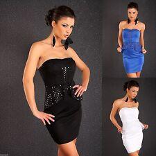 Polyester Cocktail Peplum Dresses for Women