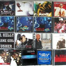 R Kelly 20 CD Lot Duets Jay-Z Usher Space Jam Ignition Maxis Promos 1995-2007