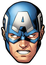 Captain America Marvel The Avengers Simple Amusant carte fête Masque Visage
