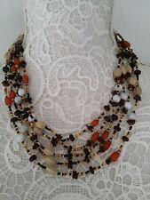 Ethnic tribal African Kenyan Masai SEED BEAD  necklace.