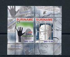 Surinam 2015 Mnh Upaep trata de seres humanos 2v M/S