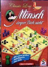 Schmidt Spiele 49085 - Classic line Mensch ärgere Dich nicht, extragroße Figuren
