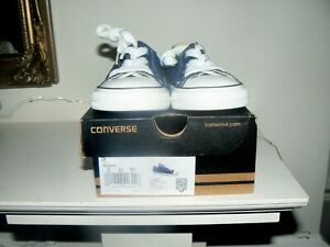 INFANT BABY BOYS CONVERSE TRAINERS UK SIZE 5