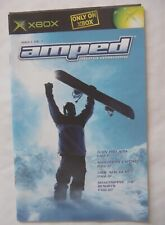 55888 Instruction Booklet - Amped - Microsoft Xbox (2001)