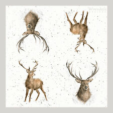 Wrendale Designs 4 Wild at Heart Single Paper Napkins for Crafts & Decoupage