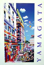 "Hiro Yamagata - FLOWER SHOP - Serigraph Poster 36""x 24"""