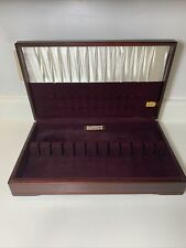 New listing Oneida Community Silverware Flatware Wood Storage Chest Silverware Box