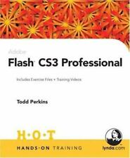 Hands-On Training: Adobe Flash CS3 Professional : Includes Exercise Files and De