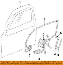 BMW OEM 95-99 318ti Front Door-Window Regulator 51331977609
