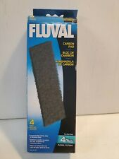 Fluval Filter #A-197 carbon pad 4 pack aquarium filter pad.