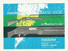 W0608 FABARM - Brescia - Pubblicità 1969 - Advertising