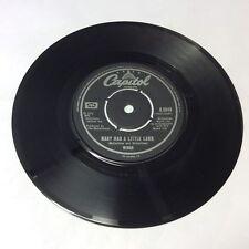 "Wings 'Mary Had A Little Lamb' Vinyl 7"" Rare MPL/Capitol SIngle VG+ Nice Copy!"