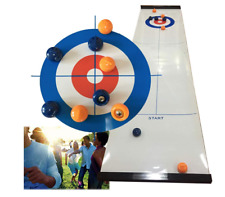 Hoqiang Table Top Curling Game Family Games for Kids and Adults Shuffleboard