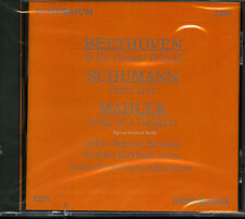 Mahler, Schumann and Beethoven Song Cycles In English (Symposium 1221, 1997) NEW