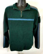 WoolRich Green Sweater - XL - 1/4 zip - Original outdoor wear