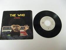 """The Who athena - 45 Record Vinyl Album 7"""""""