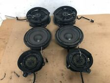 MERCEDES BENZ E55 E320 E430 W210 FRONT REAR SET OF 6 SPEAKER SUB WOOFER SPEAKERS