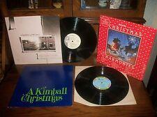 Kimball Christmas-Interpretations Of The Season-Incarnation-Aroma Disc-LP Lot