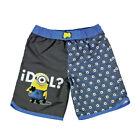 MINIONS costume bermuda pantaloncino mare piscina varie taglie da bambino