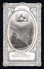 santino merlettato-holy card-canivet*LETAILLE-FIGURES SENSIBLES DE LA S.COMMUN.