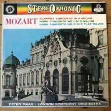 CS 6178 Mozart Clarinet / Horns Concertos / Maag / LSO W/B BBB