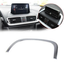 for Mazda 3 Axela 2014-2017 Interior Center Control Decoration Strip Cover Trim
