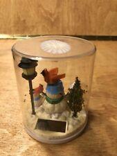 Fluttering Snowman Solar Toy