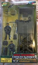 """World Peacekeepers Lookout Tower 3 3/4"""" Action Figures & Accessories"""
