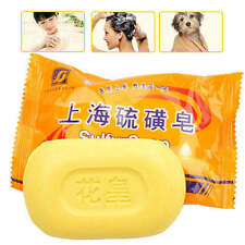 NEW Sulfur Soap Anti Fungal Dermatitis Rosacea Eczema Pimple Psoriasis Scabies