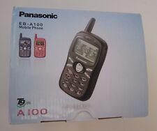 Panasonic A100 - Black (Unlocked) Cellular Phone Boxed