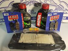 REPLACEMENT KIT SYM CITYCOM 300 OLIO MOTUL 5100 FILTER PADS FRONT REAR 2013