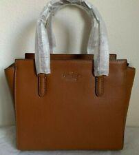 NWT Kate Spade Jackson Medium Leather Satchel Bag WKRU5940 $359 WarmGinger Bread