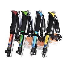 Hiking Stick Trekking Pole Anti-Shock Cane Alpenstock Adjustable Walking Cane