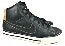 Nike Sweet Classic High Top Sneakers Kids Youth Size 6.5 Women's Size 8 Black