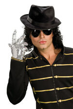 Michael Jackson Accessory Kit Wig Hat Glove Glasses Adult Mens Costume Rubies