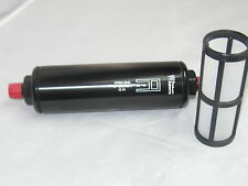 """Product Engineering 6AN Fuel Filter 60 micron 8 1/2 L X 2 """" DIA"""