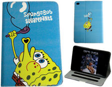 iPad Mini 1 2 3 4 5 SpongeBob SquarePants Cartoon Kids Anime Smart Case Cover +
