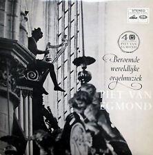 Piet Van Egmond SIGNED AUTOGRAPHED? Handel Purcell Organ Music (SXLPH 1039)