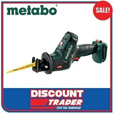 Metabo 18V Lithium-Ion Compact Sabre / Reciprocating Saw SSE 18 LTX - 602266890