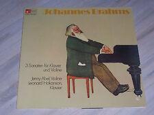 J. BRAHMS - 3 Sonaten für Klavier und Violine / Abel, Hokanson, BASF, 2921032-4