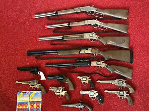 Pistolen Gewehre und Munition - Spielzeugpistole Country Cowboy Karneval