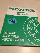 Honda Spacy CH250 Ch 250 250CH Revision Technik Werkstatthandbuch Workshop