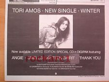 TORI AMOS Winter 1992 UK Press ADVERT/clipping 12x8 inches